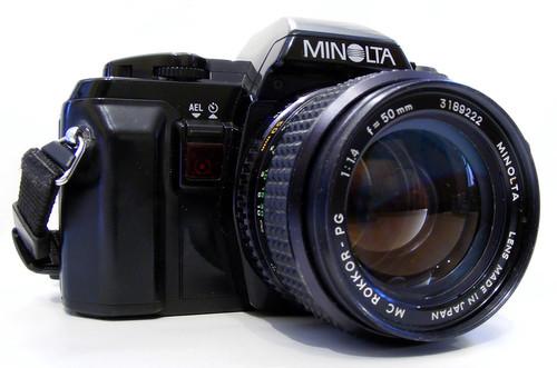 Minolta X-300s Film SLR 50mm 1.4 Prime