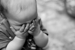 (Jordy B) Tags: portrait bw children luca noiretblanc main enfant