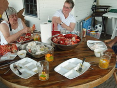 The Carnage after out 1st Dinner (rfournier72) Tags: maine islesboro