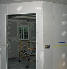 Remodel Kitchen Framing and Drywall 042 (MathTeacherGuy) Tags: home kitchen drywall project construction error repair framing renovation remodel electrical contractor errors carpenter mistakes goofs sheetrock measurement