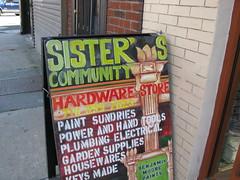 sisters' community hardwear store
