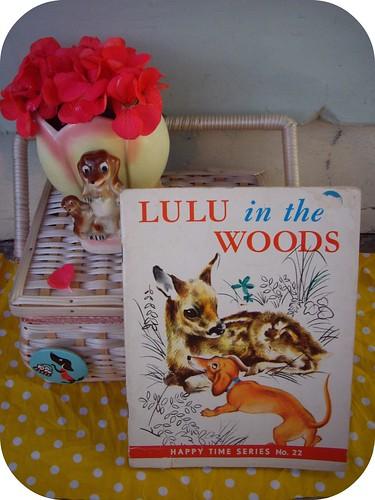 Lulu in the woods