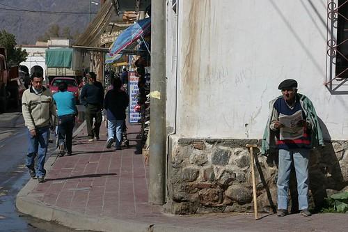 Cafayate street scene...