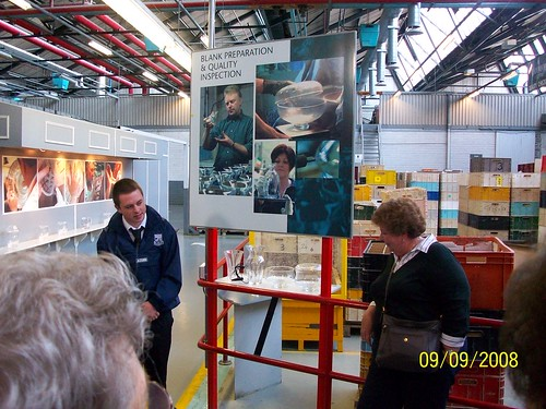 Ireland - Waterford Crystal Factory Tour