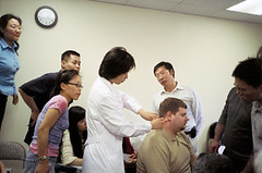 Students learn Acupuncture at NYCTCM