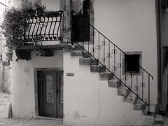 Stair (sara-maria) Tags: old blackandwhite bw white house black stair alt croatia haus treppe rovinj schwarz kroatien weis