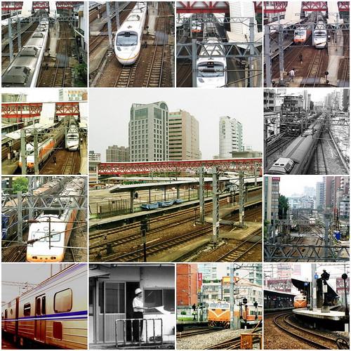 走入歷史的松山火車站_18。Mosaic