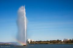 Rainbow fountain (Landfeldt) Tags: water fountain rainbow canberra floriade floriadecanberra