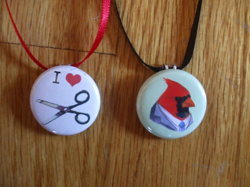 Make a One-Inch Button into a Pendant!