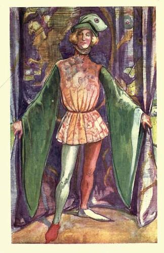 05- Vestimenta hombre en la epoca de Enrique V ( 1413-1422)