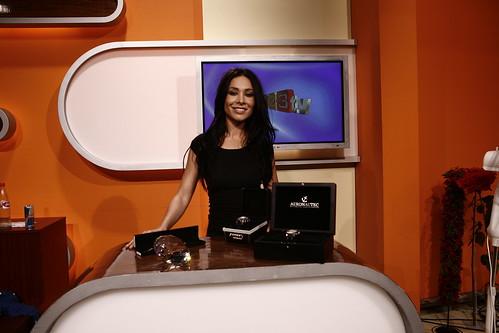 Sandra Ahrabian auf 1-2-3.tv