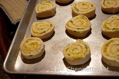 Cheese Pimento Rolls