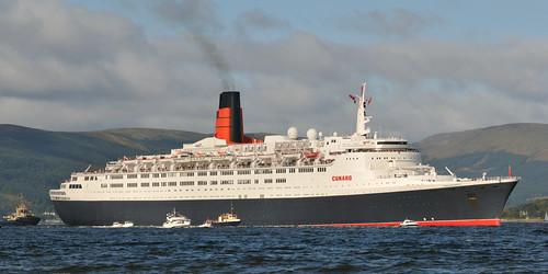 QE2 Clyde Arrival por Sea Pigeon.