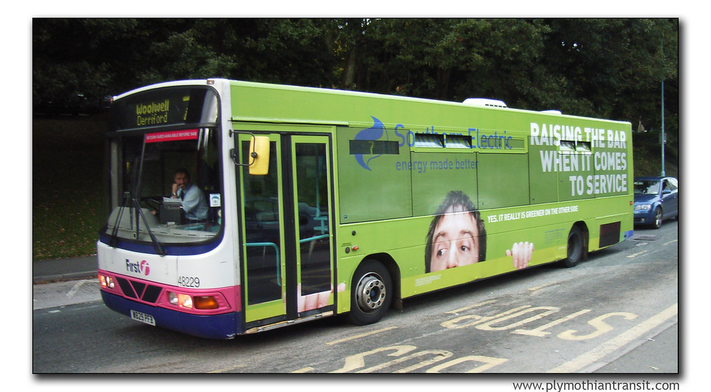 First Devon and Cornwall 48229 W829PFB