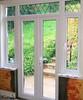 french door + side screens inside