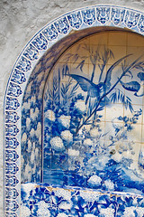 Tiles (Maria Berggrd Silow) Tags: water fountain tea drinking porto tiles plantation formosa