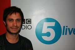 Gael Garcia Bernal (BBC Radio 5 live) Tags: film radio documentary bbc actor motorcyclediaries resist gaelgarciabernal fivelive 5live simonmayo