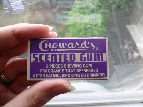 Purple scented gum