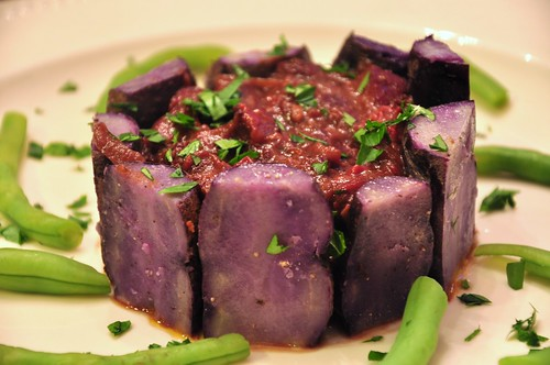 Recipes for purple potatoes