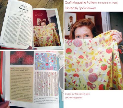 Craft Magazine spread