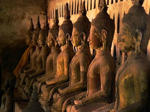 Emerald Buddha idols