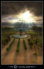 Versailles gardens, near Paris, France :: HDR (Erroba) Tags: trees paris water gardens clouds photoshop canon rebel belgium tripod sigma versailles tips remote 1020mm erlend hdr jardins cs3 3xp photomatix supershot tonemapped tonemapping xti 400d erroba robaye erlendrobaye