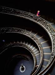 Stairs - Vatican Galleries (josullivan.59) Tags: travel italy vatican rome aplusphoto