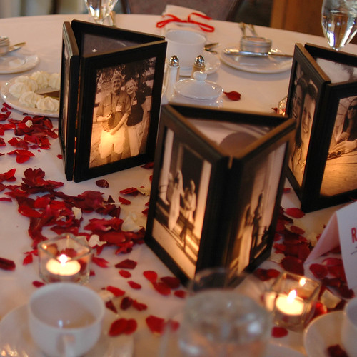 is anyone doing small centerpieces no flowers wedding 2996973208
