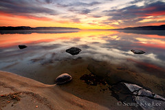 - Occasus Solis - (Seung Kye Lee - Fine Art Landscape Photography) Tags: sunset lake reflection beach nature norway canon landscape scenery europe ambientlight fineart surreal korea explore seoul environment 5d fjord 1740mm tyrifjorden specland specnature absolutelystunningscapes luminouslandscapes leeneutraldensityfilter wwwseungkyeleezenfoliocom landskapsfotograf