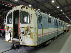 487061 2008-11-01 Acton London Transport Museum Depot (Banbury Bob) Tags: uk greatbritain england electric train br rail railway trains gb emu nr railways britishrail acton lu trainz nse tfl nationalrail transportforlondon britishrailways waterlooandcity networksoutheast multipleunit class487