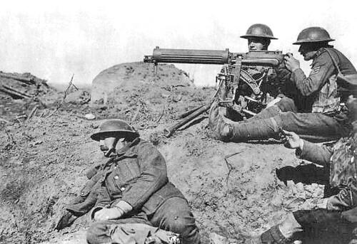 world war two machine guns