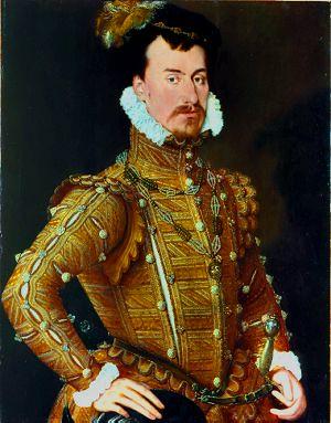 Robert Dudley, 1565.