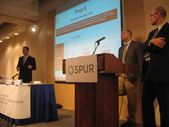 Alex Clemens, David Latterman and Gabriel Metcalf discuss the outcomes of the Nov. 4, 2008 election at SPUR.