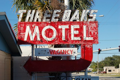 Florida, Titusville, Three Oaks Motel (21,623)