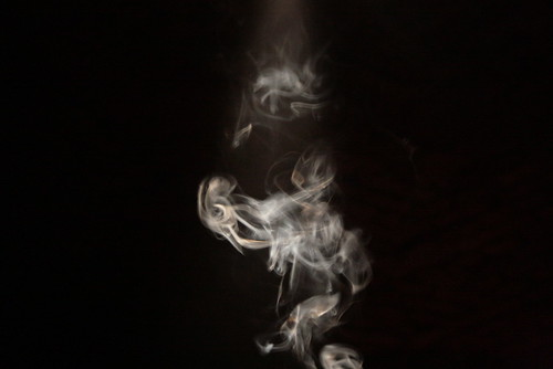 smoke me around