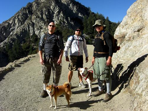The Boys go Hiking