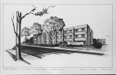 Adams Hall Architectural Rendering