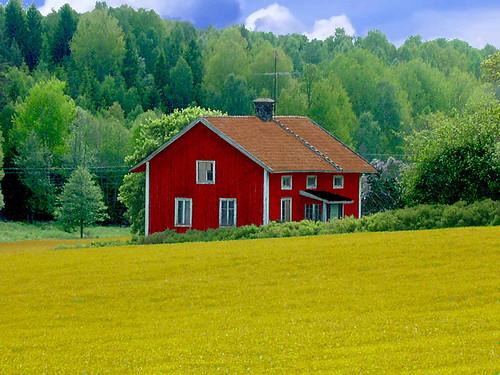 Landscape Houses landscape with house - home design