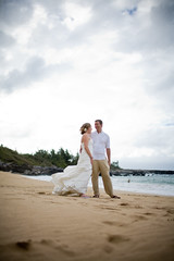 0237W081018chelsea (Chelsea and Steve) Tags: wedding beach portraits hawaii maui kapalua 101808 chelseasteve photographybyjennifersrau