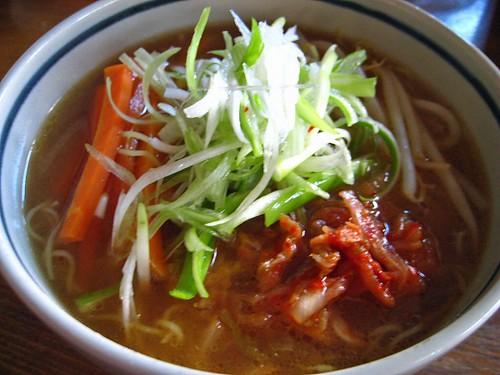 味噌キムチ麺