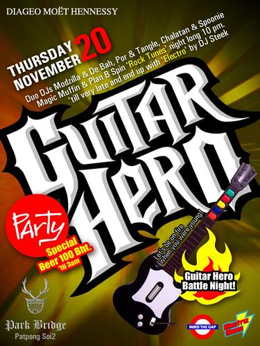 Guitar Hero Party @ Park Bridge 20.11.08
