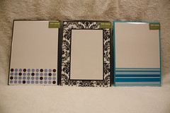 3 Notecards with Matching Envelopes