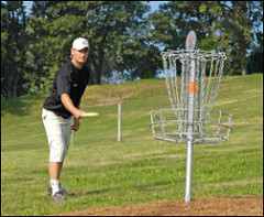 - Disc golf at Hyland