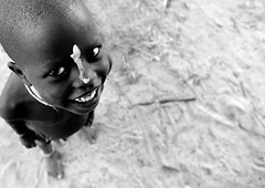 Karo kid Ethiopia (Eric Lafforgue) Tags: africa artistic dam african tribal ornament blackpeople bodypainting tribe ethnic rite barrage tribo headdress adornment africain afrique pigments headwear headgear tribu omo eastafrica thiopien etiopia ethiopie etiopa ethnique 4686 lafforgue  etiopija ethnie ethiopi  ericlafforgue etiopien etipia  etiyopya  southethiopia nomadicpeople ericlafforguecom    abissnia   salinicostruttori    gibeiiidam gibe3dam bienvenuedansmatribu peoplesoftheomovalley