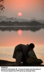sunset (Jahangir @) Tags: pakistan sunset skies view sindh jahangirkhan provincialcapitalcity karkarachi