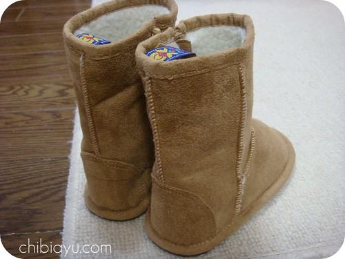 レモールのフェイクムートン子供用ブーツ1