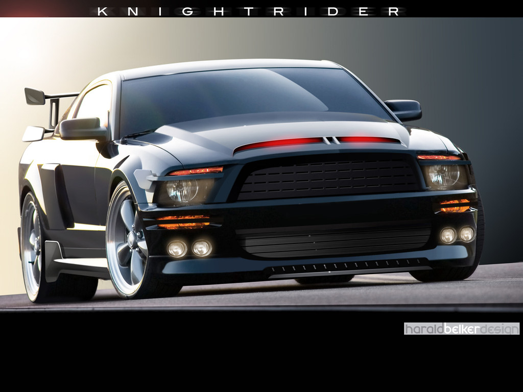 2007 Mustang KITT (Knight Rider)