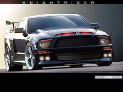 2007 Mustang KITT (Knight Rider) (Eric J. Johnson) Tags: knight mustang rider 2007 kitt