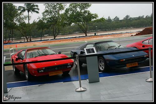 Ferrari 308 Quattrovalvole & 308 GTS. Hong Seh Motors 40th Aniversary