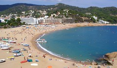 tossa de mar (daria z.) Tags: beach spain mediterranean catalonia tossademar